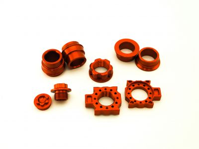 Wheel Bling Kit for 25 & 22mm axles